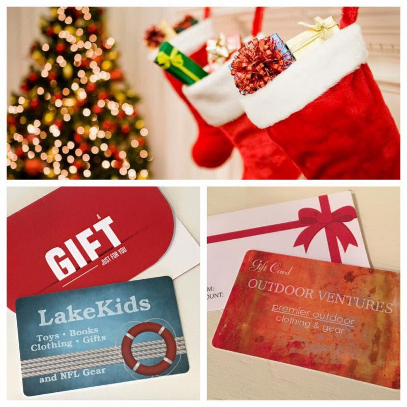 Gift Cards at Outdoor Ventures & Lake Kids