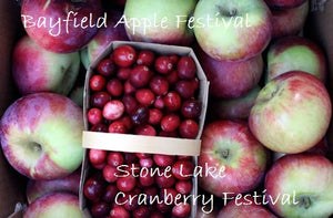 Visit Hayward WI and get the best of both Apples and Cranberries