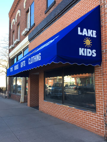 Lake Kids Toy Store & Specialty Gift Shop in downtown Hayward, Wisconsin