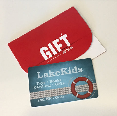Gift Cards - the perfect solution for every special occasion!