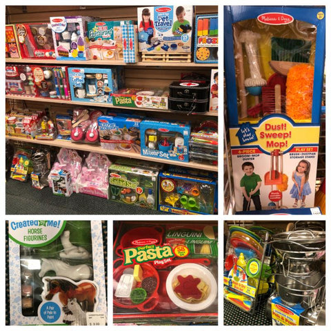 Melissa & Doug Items at Lake Kids