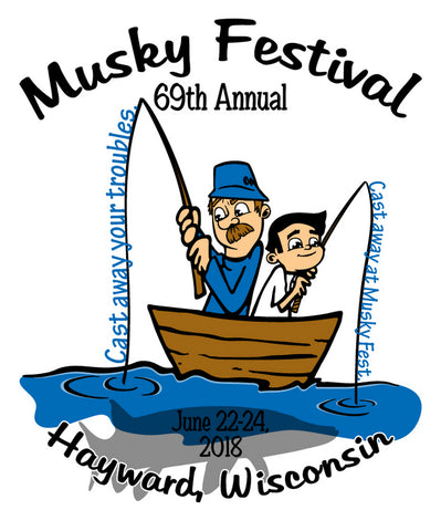 Musky Festival June 22-24th, 2018