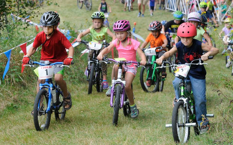Kids Bicycle Parade & Rodeo at the Chequamegon Fat Tire Festival WI