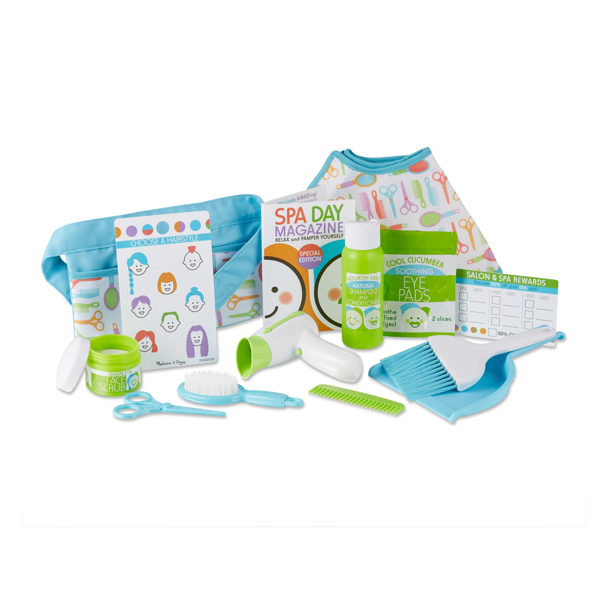 MELISSA & DOUG LOVE YOUR LOOK SALON & SPA