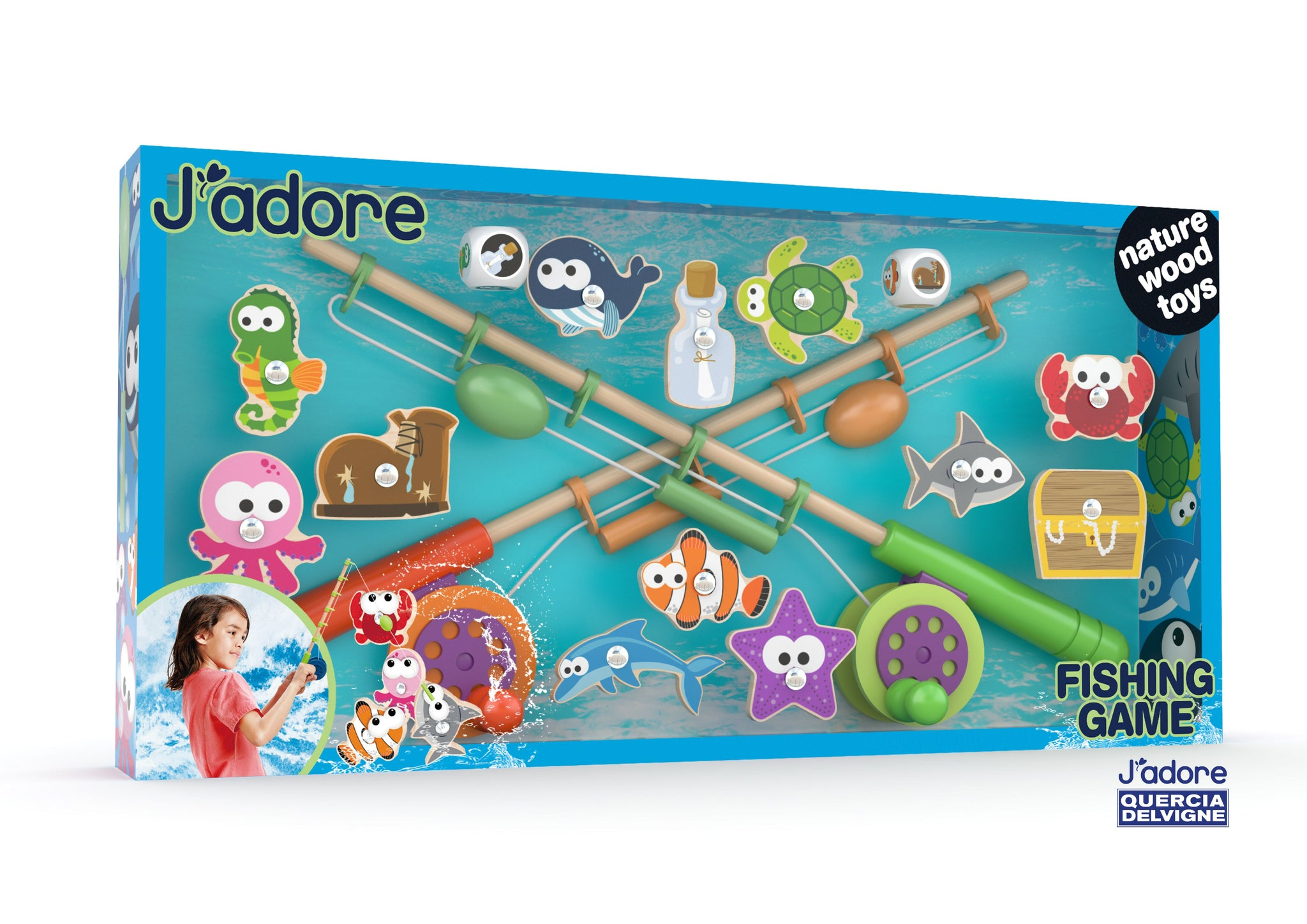 J'ADORE FISHING GAME