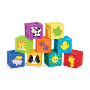 KIDOOZIE SQUEAK N STACK BLOCKS