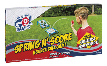 SPRING N' SCORE BOUNCE BALL GAME