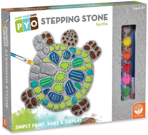 PAINT YOUR OWN STEPPING STONE TURTLE
