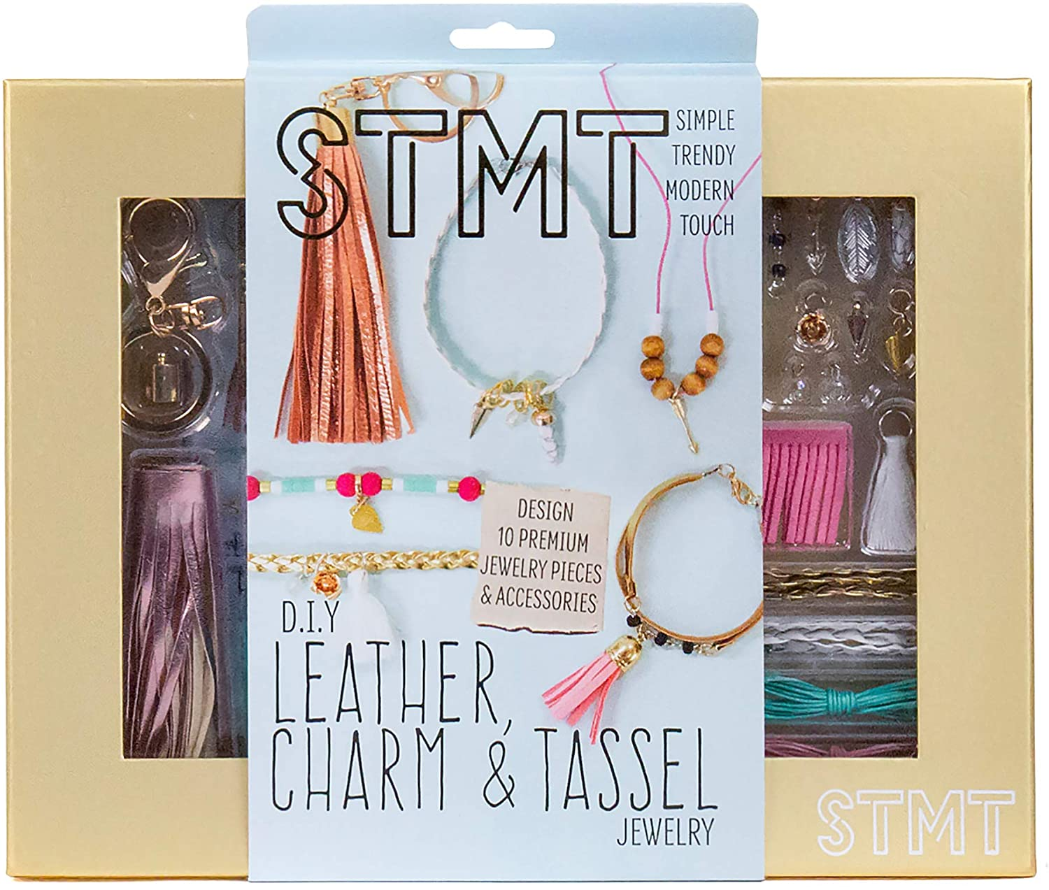 STMT D.I.Y LEATHER, CHARM & TASSEL JEWELRY