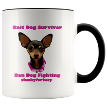 Load image into Gallery viewer, Lucy Lou Accent Mug (additional colors available)