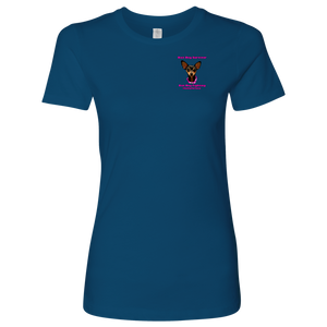 Women's Next Level Crew Neck T-Shirt (additional colors available)