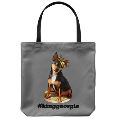 King Georgie Tote Black Letters (additional colors available)
