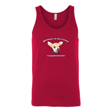 Load image into Gallery viewer, Unisex Canvas Tank Top (additional colors available)