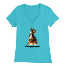 Load image into Gallery viewer, Women's Bella V-Neck T-Shirt (Additional Colors Available)