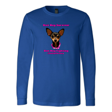Load image into Gallery viewer, Unisex Canvas Long Sleeve T-Shirt (additional colors available)