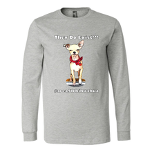 Load image into Gallery viewer, Men's Canvas Long Sleeve T-Shirt (Additional Colors Available)
