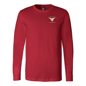 Men's Canvas Long Sleeve T-Shirt (additional colors available)