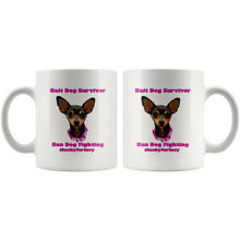 Load image into Gallery viewer, Lucy Lou White 11 oz Mug