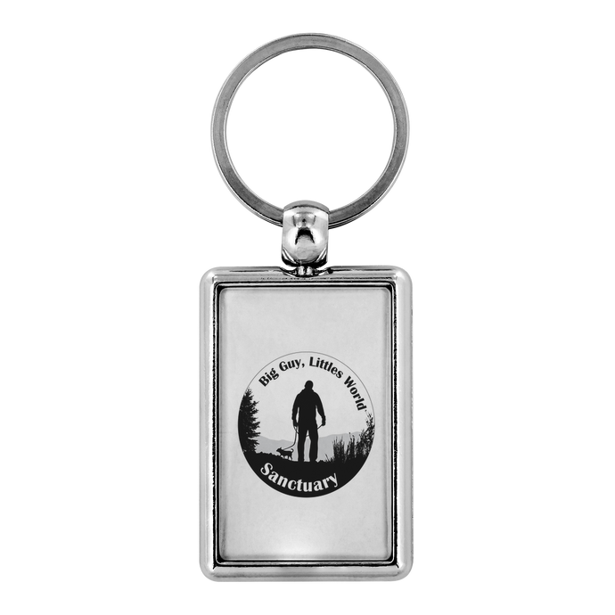 Sanctuary Logo Key chain