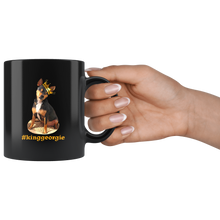 Load image into Gallery viewer, King Georgie Black 11oz Mug