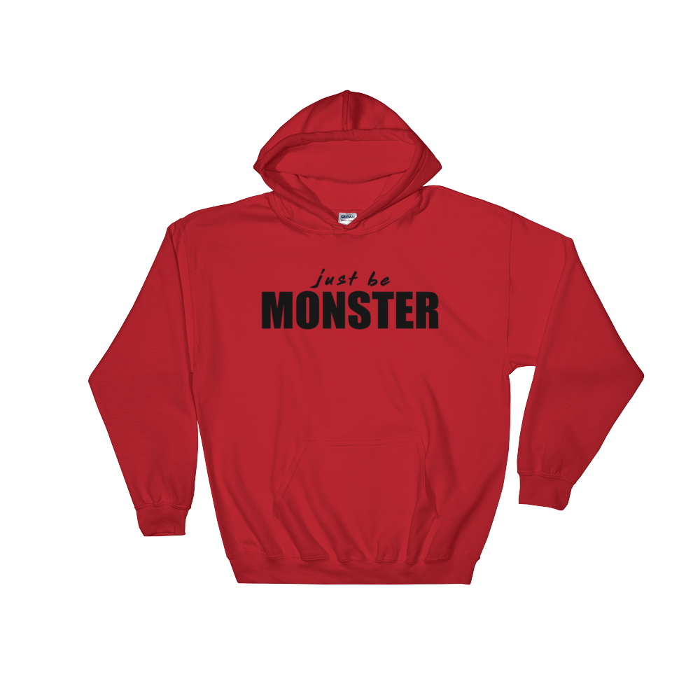 Just Be MONSTER Hoodie - Red
