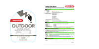Nature-Cide Outdoor Labels & SDS