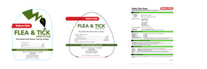 Nature-Cide Flea & Tick Labels & SDS