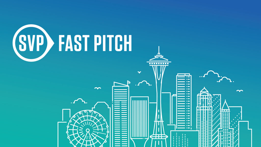 We are a finalist in the 2018 SVP Fast Pitch Seattle!