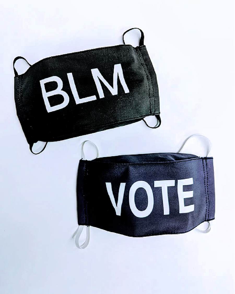 BLM and VOTE Cotton Masks