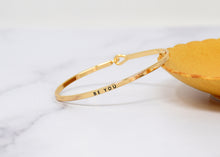 Load image into Gallery viewer, Be you - Bracelet Bangle with Message for Women Girl Daughter Wife Holiday Anniversary