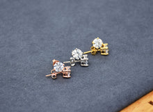 Load image into Gallery viewer, Zironia Diamond Earrings