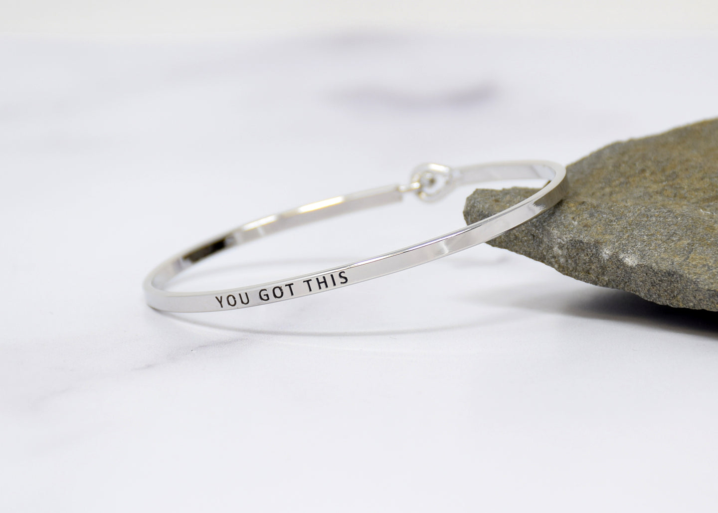 You Got This - Bracelet Bangle with Message for Women Girl Daughter Wife Holiday Anniversary Special Gift