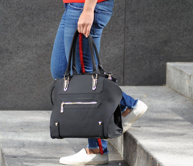 Zoe Expandable Satchel