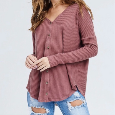 Cozy Weekend Button Up Cardigan
