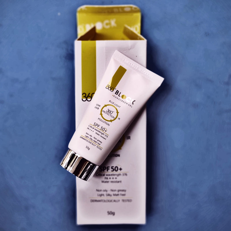 360º BLOCK Sunscreen Gel SPF 50+ - Keeping Zen