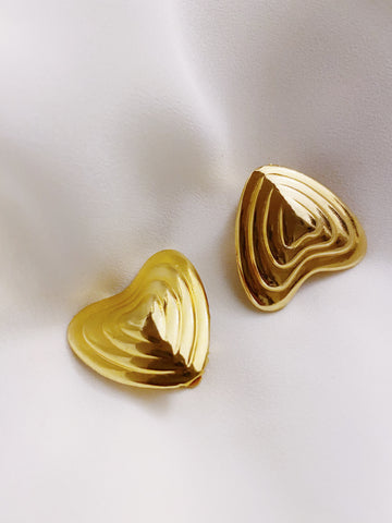 Boucles d'oreilles Escada ( made in France)