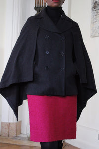 Manteau cape  BCBG