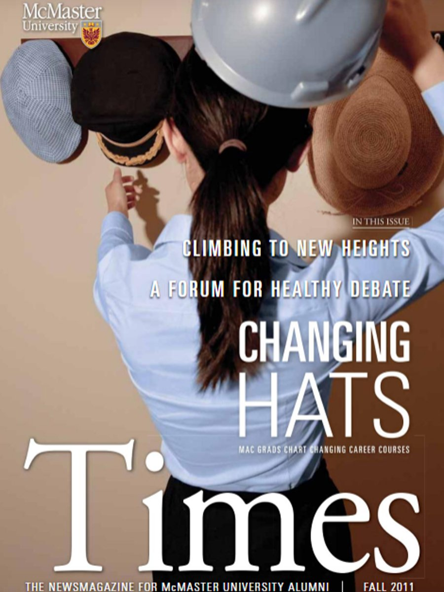 McMaster University - Changing Hats Article