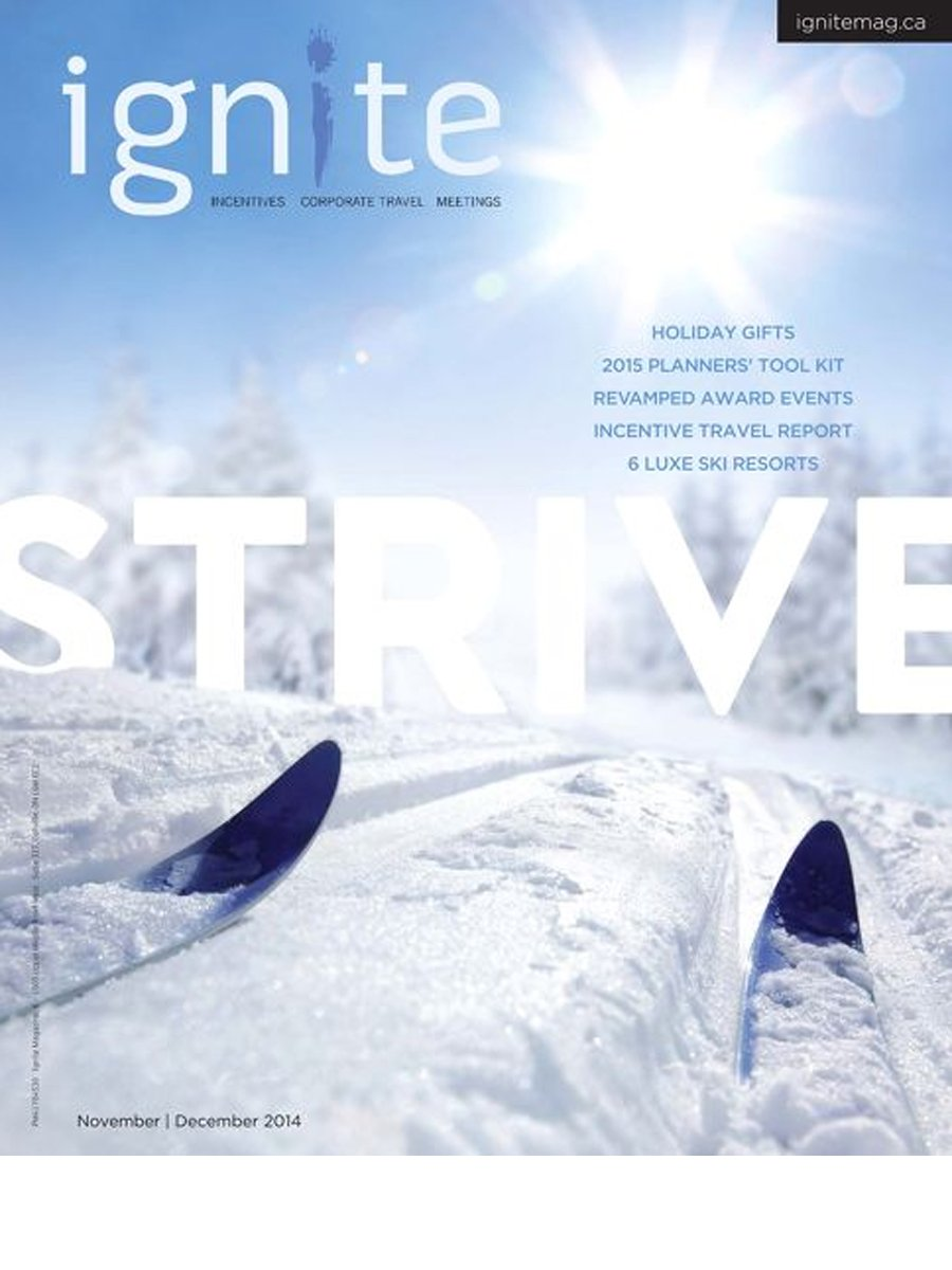 Ignite Magazine - Strive - Nov 2014