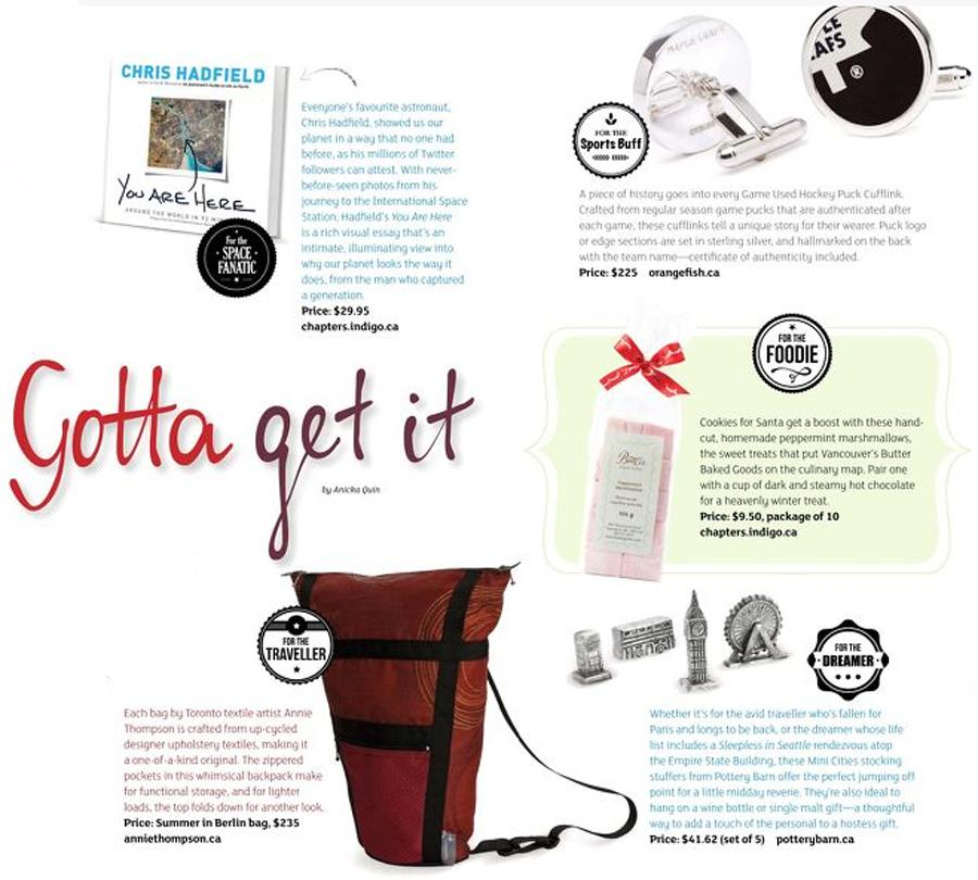 Ignite Magazine - Strive - Nov 2014 - Gotta Get It - NHL Cufflinks