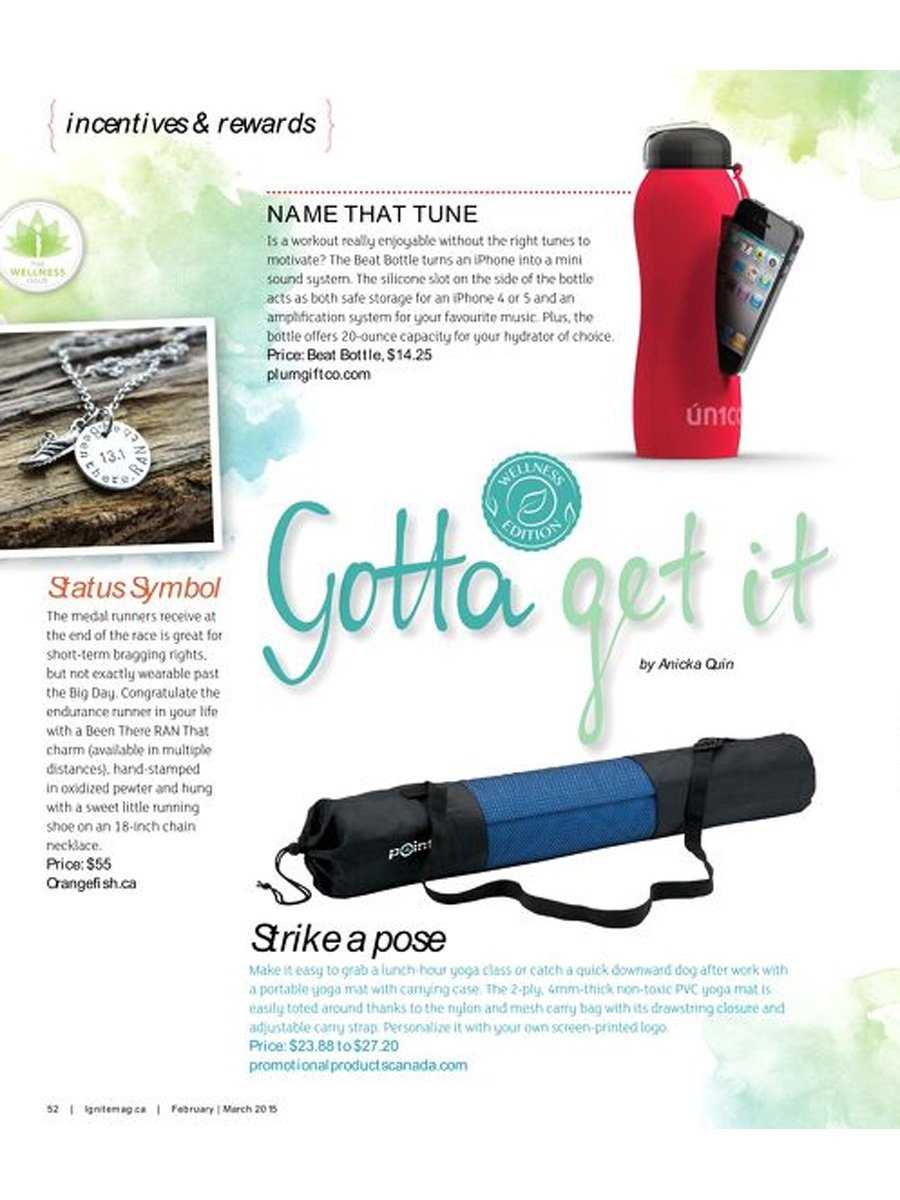 Ignite Magazine - Invigorate - Gotta Get It - Afflatus Workout Jewellery