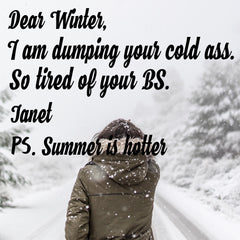 Women Who Hate Winter