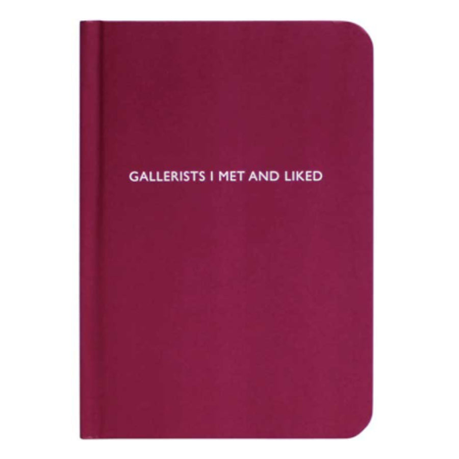 Gallerists I met and I liked Journal