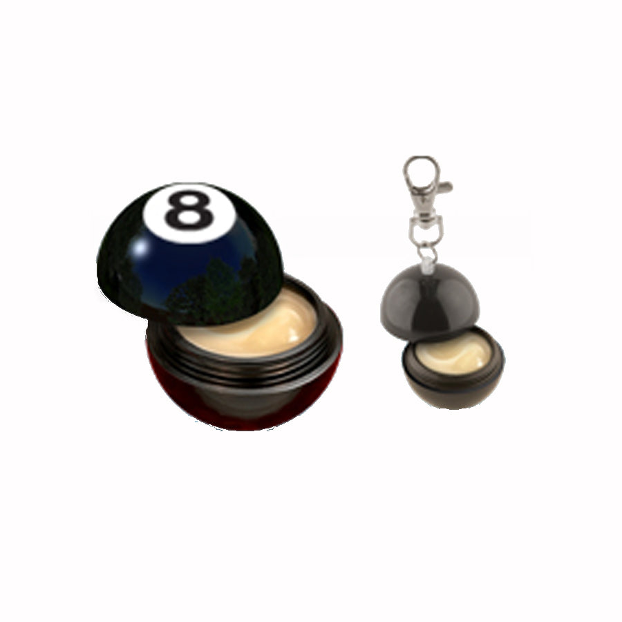 8 Ball Lip Balm Key Chain
