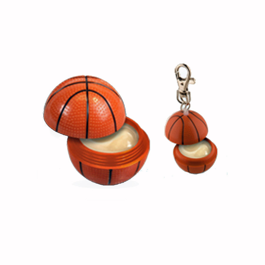 Basketball Lip Balm Key Chain