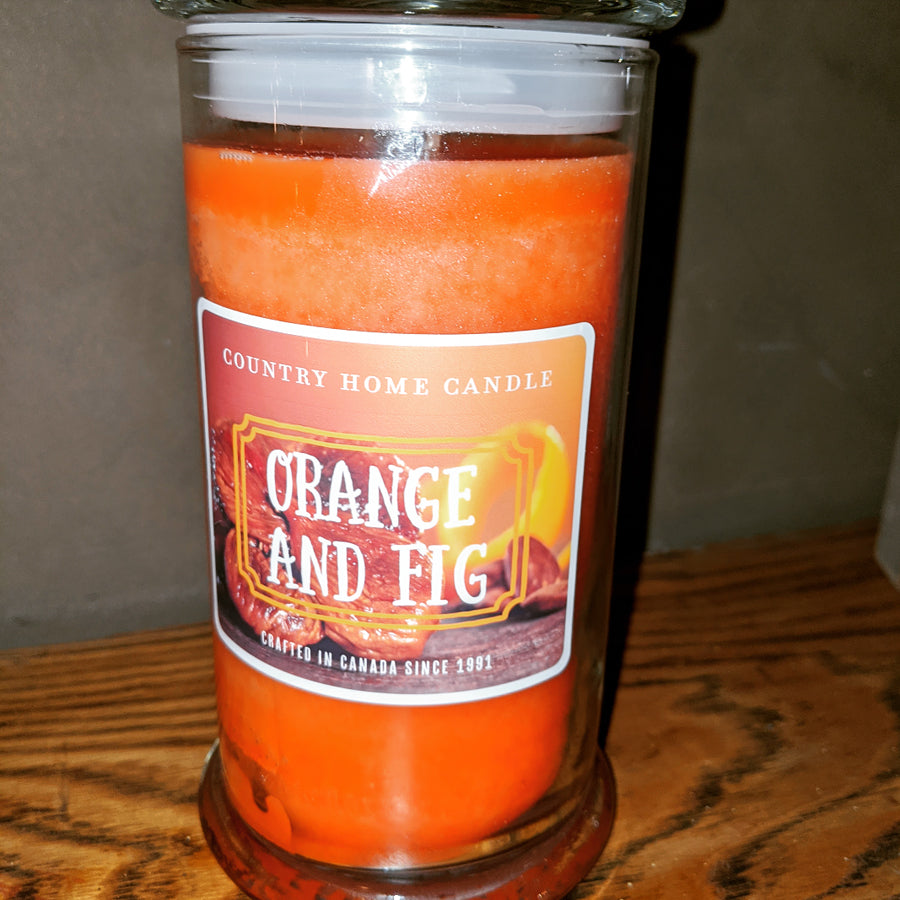 Orange & Fig Candle