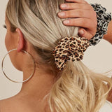 Animal Print Big Cat Scrunchies