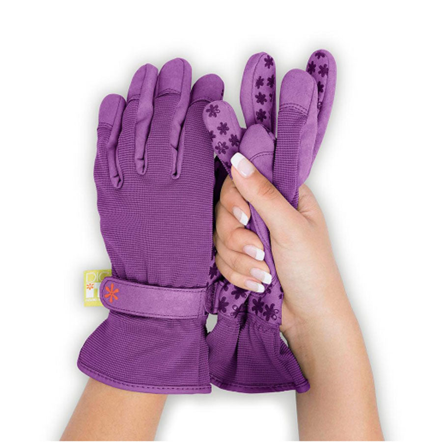 DIG IT GLOVES PURPLE