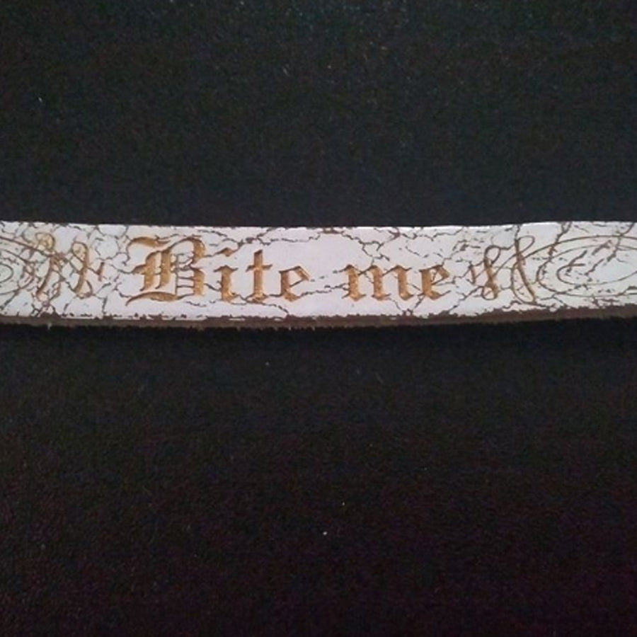 Bite Me Dog Collar