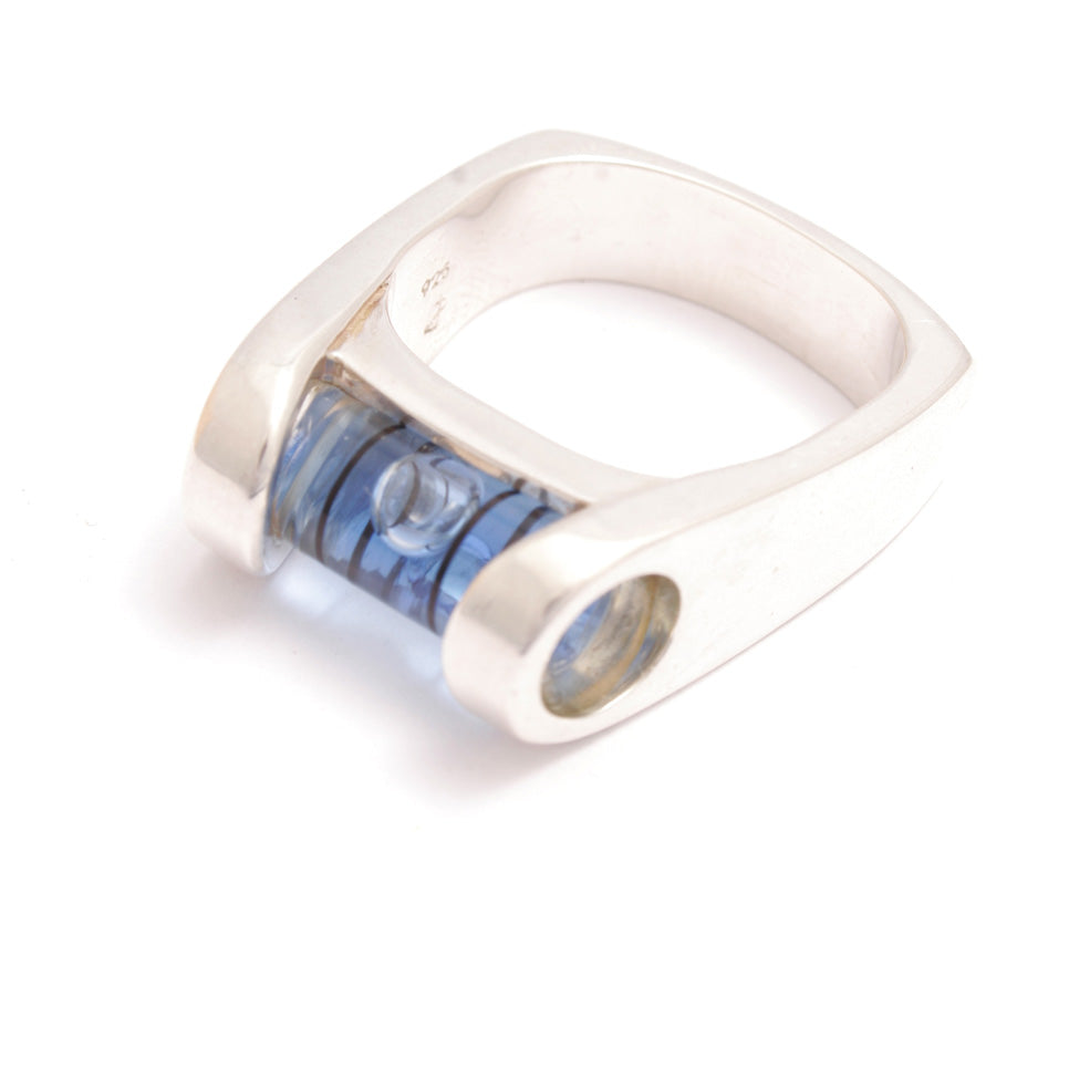 Blue A Level Ring